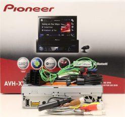 Pioneer AVH-X7800BT rear