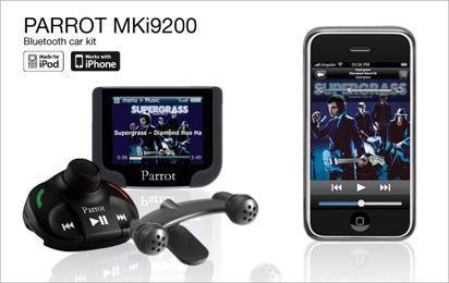 Avtoinstalacija Parrot MKi9200 iPhone