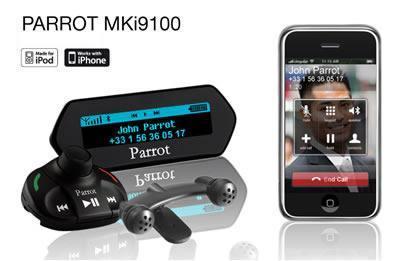 Avtoinstalacija Parrot MKi9100 iPhone