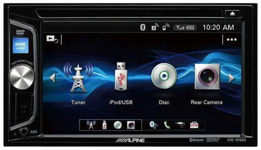 Alpine IVE-W560BT menu