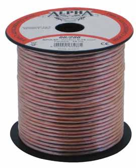 Zvočniški kabel na kolutu 2 x 4mm2