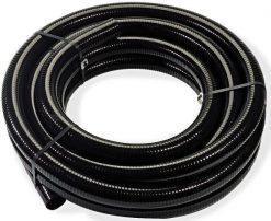 Narebrena zaščitna cev (PVC)