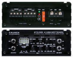 Crunch GTO4125 panels