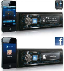 Alpine CDE-178BT TuneIt Facebook