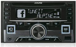 Alpine CDE-W296BT white
