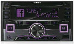Alpine CDE-W296BT violet