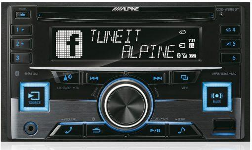 Alpine CDE-W296BT