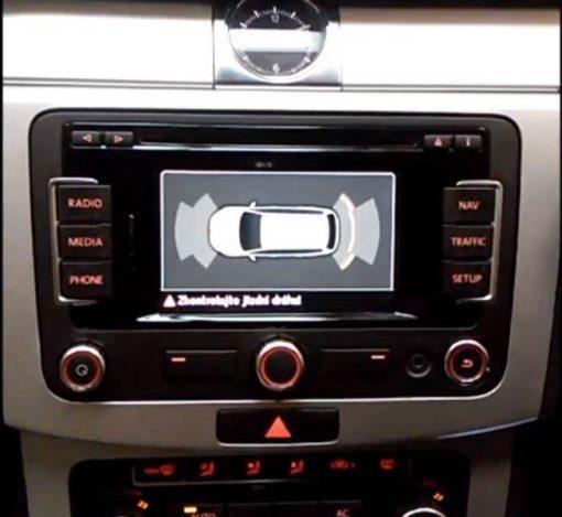 Steelmate PTS410BTI VW display