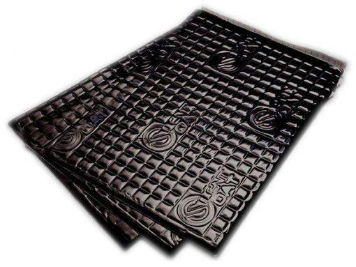 Silent Coat Black plates