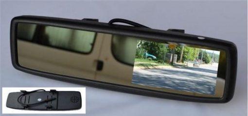 """LCD zaslon 4.3"""" v vzvratnem ogledalu"""