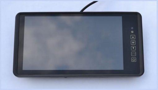 """LCD zaslon 9"""" v vzvratnem ogledalu"""