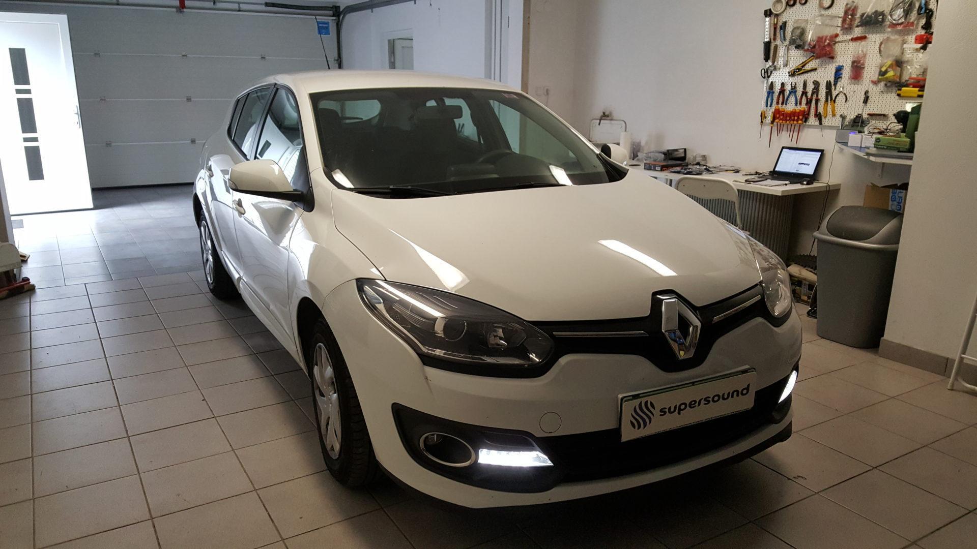 Renault Megane 3 zvočniki in izlolacija
